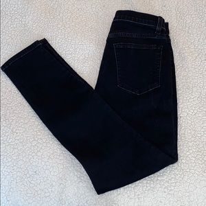 REFORMATION - Size 28 Black High and Skinny Jeans
